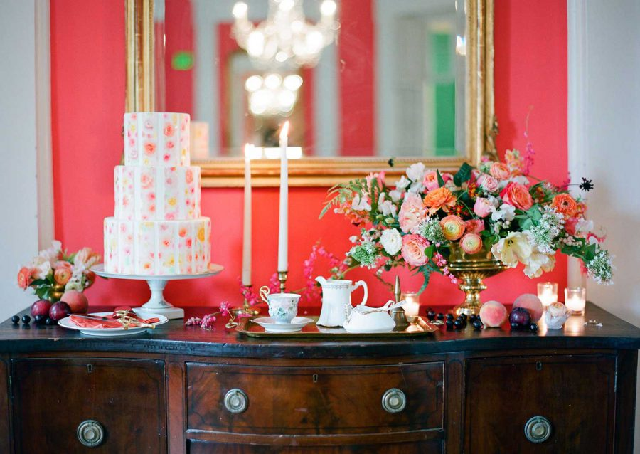 Charleston Weddings Cake Feature